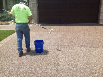 How To Re-seal Stone Pavement