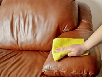 Cleaning The Leather Sofa With The Best Supports Now